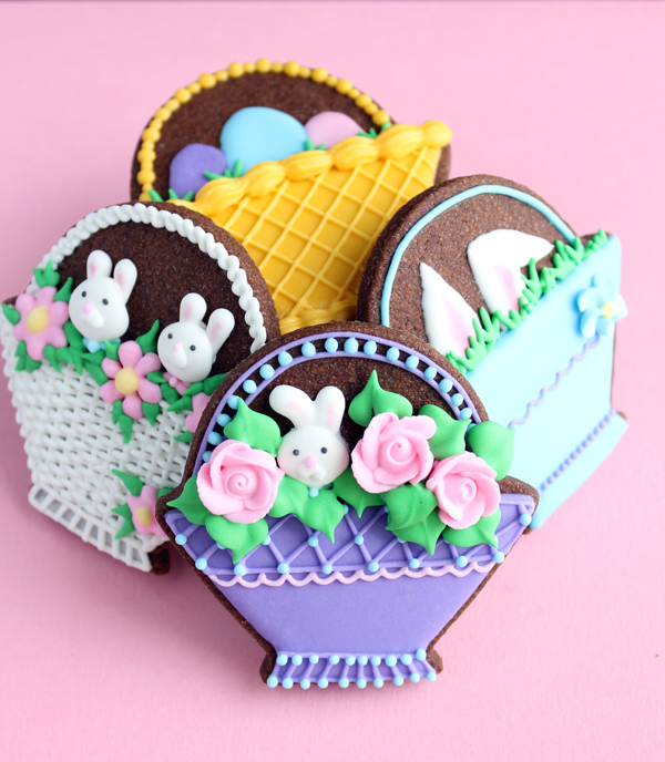 Sugar cookie easter basket recipe