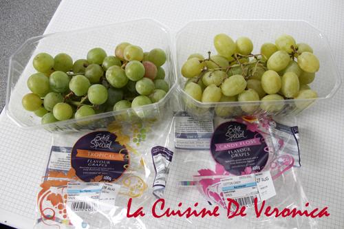 Candy Floss Flavour Grapes 棉花糖味提子 Tropical Flavour Grapes 熱帶生果味提子