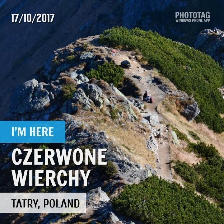 Hala Gąsienicowa - Kasprowy - Czerwone Wierchy 17.10.2017 (wkrótce)