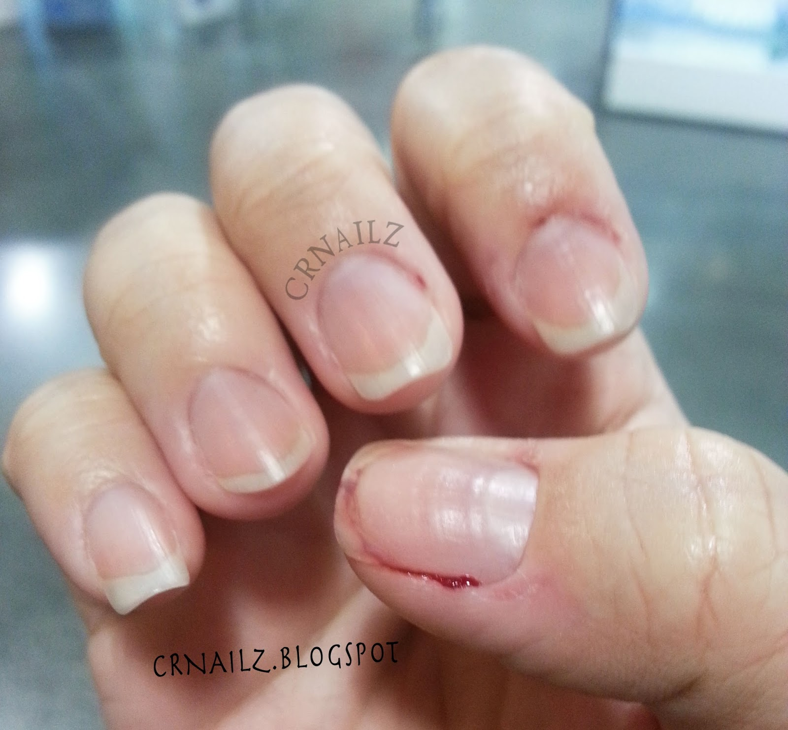 CRNailz: Do not underestimate cuticles!