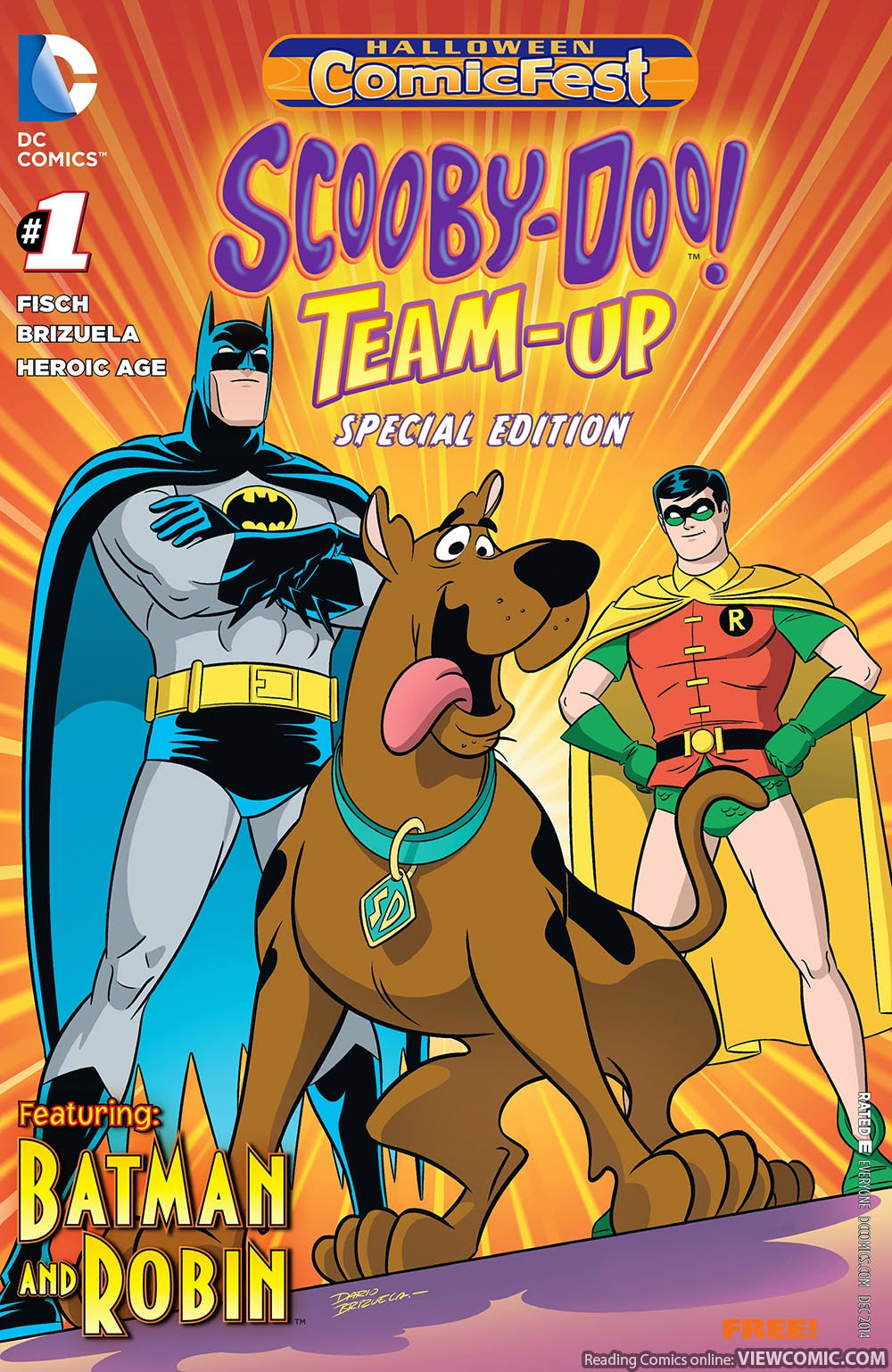 scooby-doo team up halloween special edition 001 (2014) | viewcomic