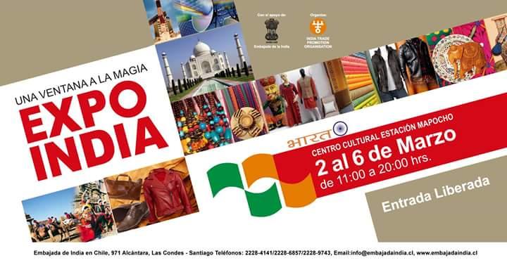 Cia. Egiptana presentando en EXPO INDIA