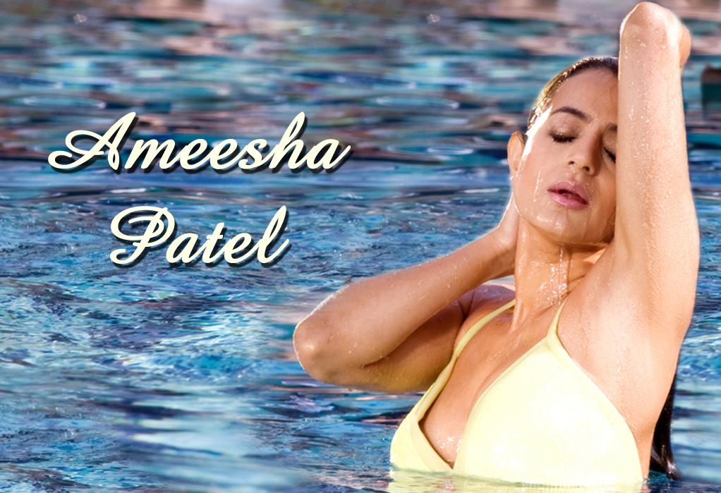 Ameesha Patel Hot in Movie Wallpaper