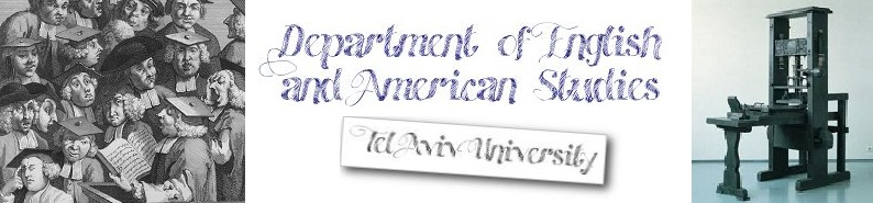 English Literature and American Studies @ TAU