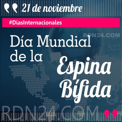 21 de noviembre - Día Mundial de la Espina Bífida #DíasInternacionales