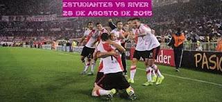 Estudiantes La plata vs River Plate En vivo 23 Agosto 2015 Transmite Fox Sports, TV Pública