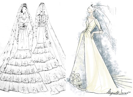 Wedding Dresses for Kate Middleton
