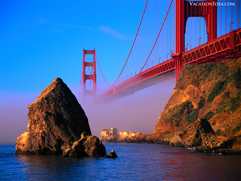 Travel trip journey golden gate bridge san francisco usa for Pictures of beautiful places in the usa