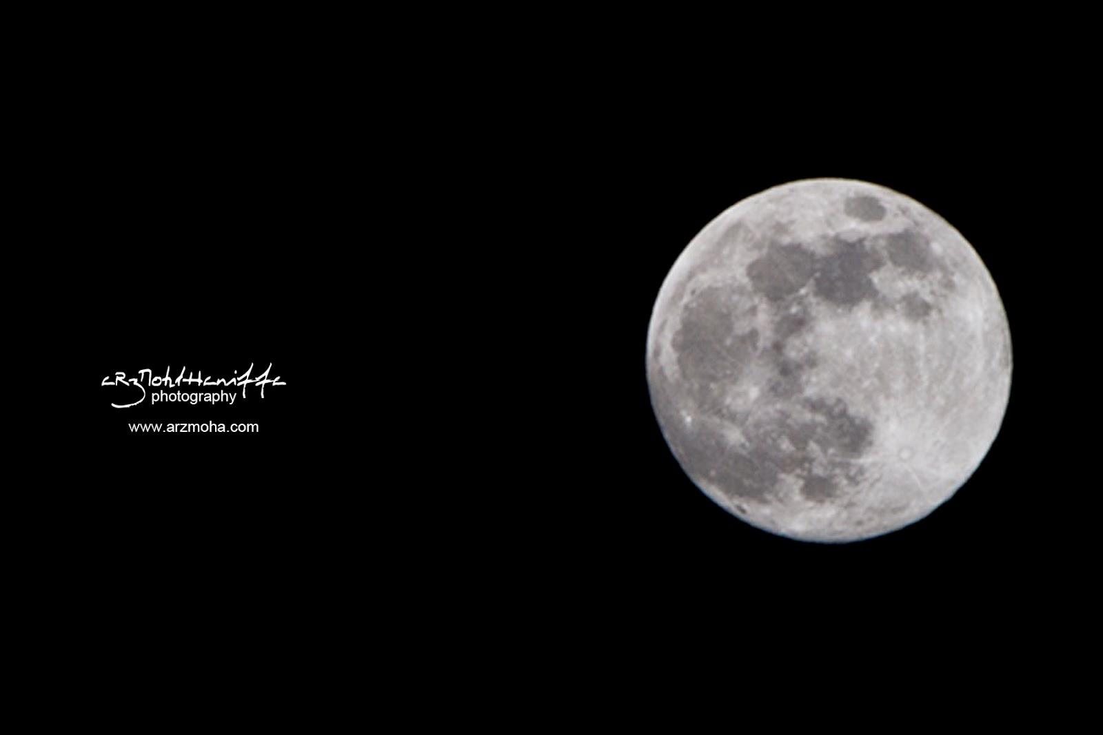 Full moon, bulan penuh, bulan mengambang, indahnya bulan, malam ini, kejadian malam, gambar cantik, arzmoha.com, arzmohdhaniffa photography