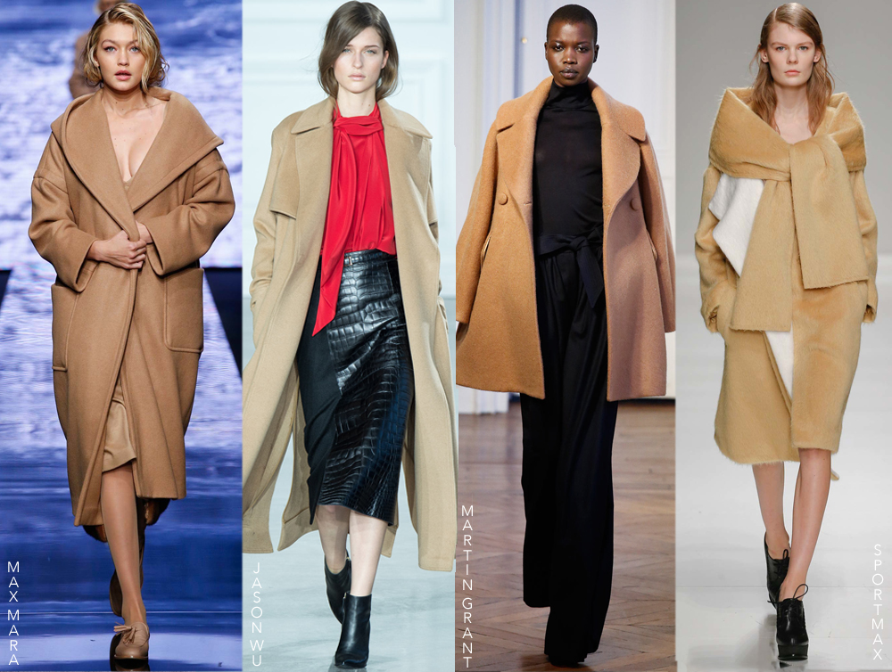 The best Autumn/Winter 2015 coats - white coats, camel, fur coats, leather coats, suede, brocade & more. Fashion trends. Best coats.Must-haves & buys. Via www.fashionedbylove.co.uk
