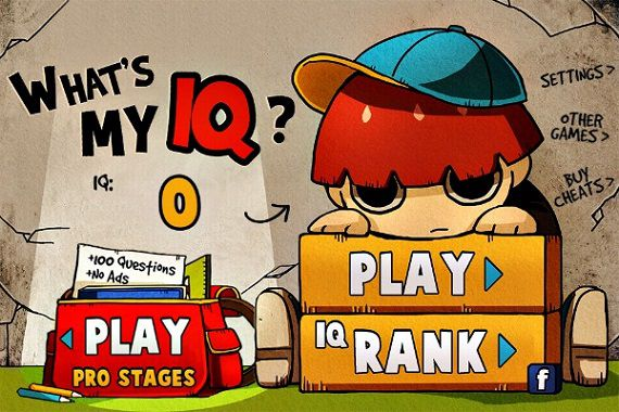 Fun Brain Training App - What is my IQ