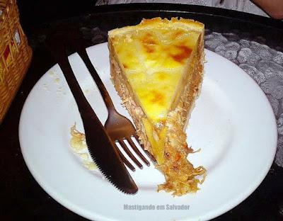 Bistrô da Chapada Café: Torta de Carne de Fumeiro com Banana