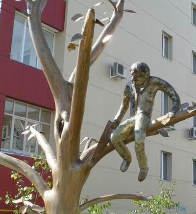 памятник в Якутске