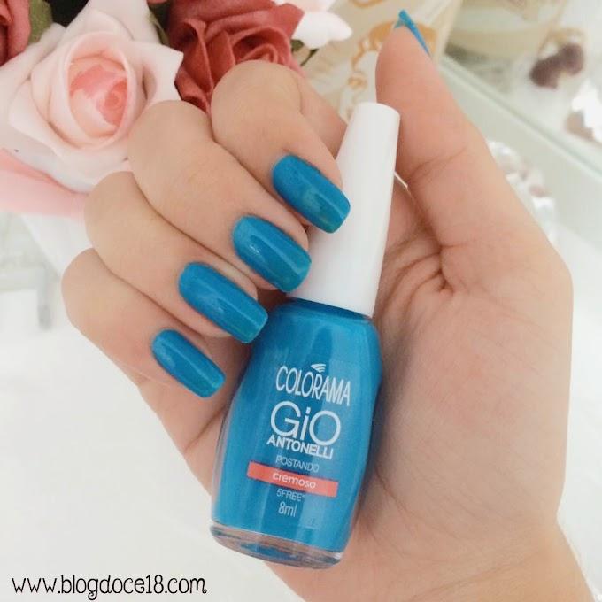 Unhas da Semana: Azul Postando