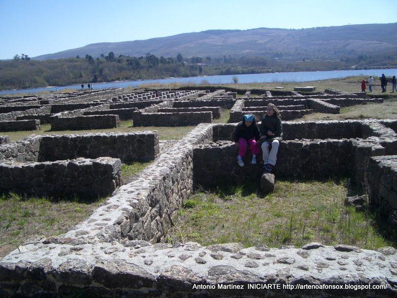 Baños Romanos De Bande:Iniciarte: Campamentos romanos en Galicia: Aquis Querquennis