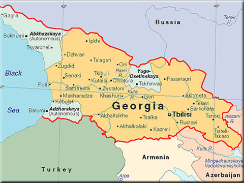 The Federalist US Warship Visits Georgia Amid Ukraine Crisis - Georgia map ukraine