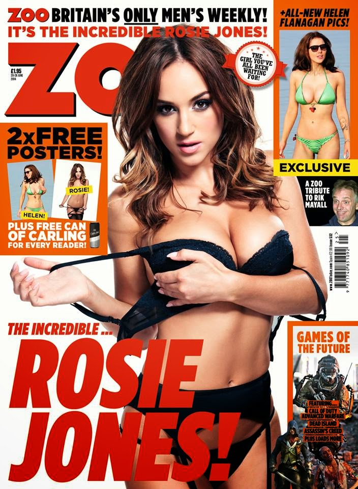 Rosie Jones en ZOO Junio 2014