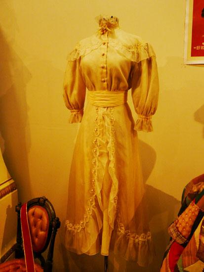 Debbie Reynolds costume exhibit Katherine Hepburn dress by Lady by Choice