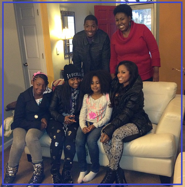 Toya and their girls make a little girl s christmas special