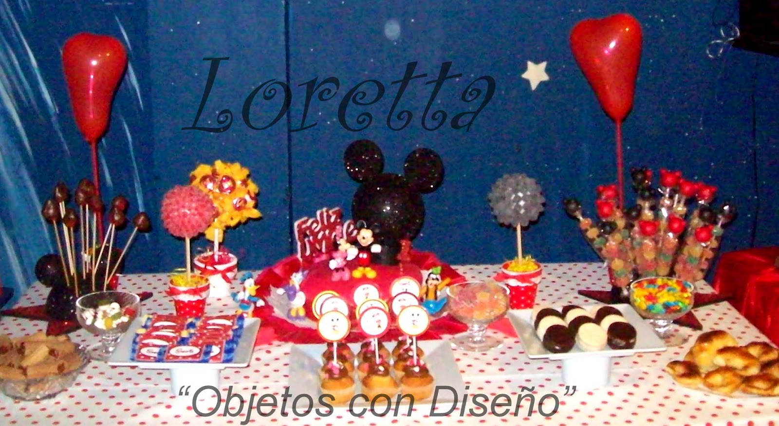 Loretta objetos con dise o decoraci n tem tica mickey - Objetos decoracion diseno ...