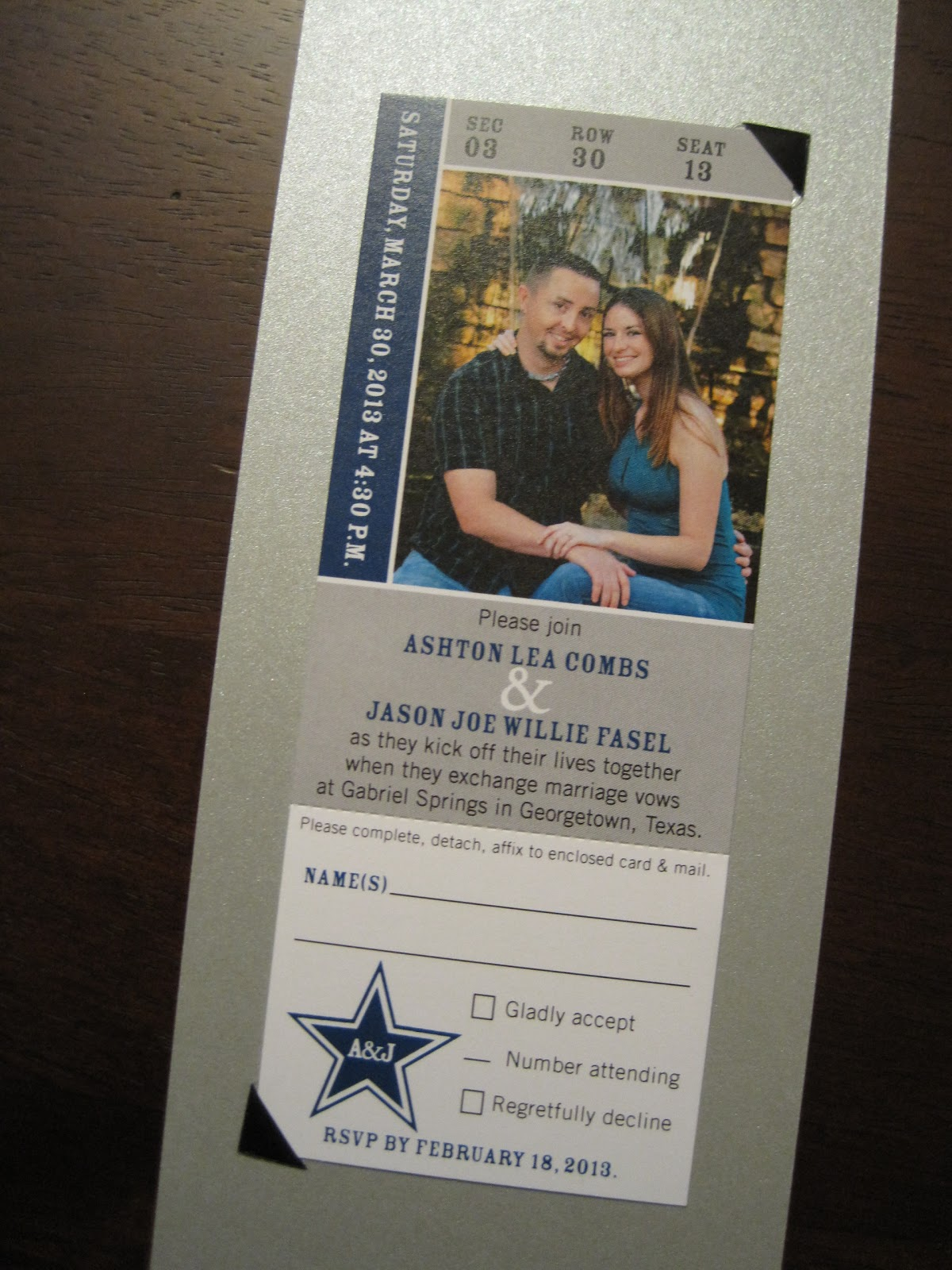 Wedding Invitations Dallas could be nice ideas for your invitation template