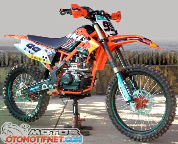 Foto Modifikasi Motor Kawasaki KLX 150S, DTracker dan KLX 250 50