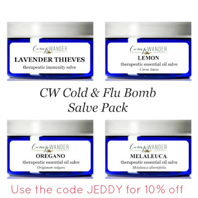 Cold and Flu Bomb Salves