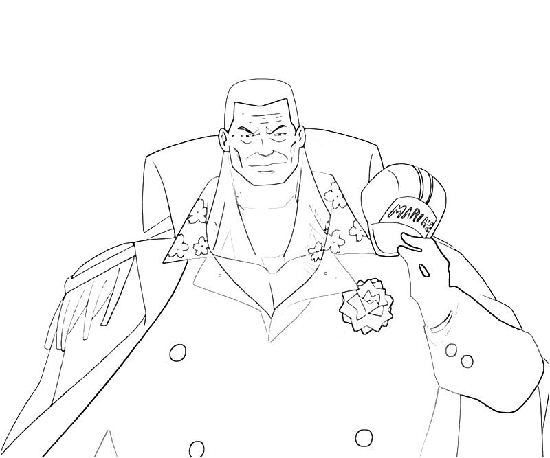 printable-one-piece-akainu-smirk-coloring-pages