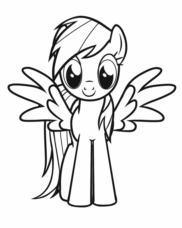 y little pony coloring pages - photo #38