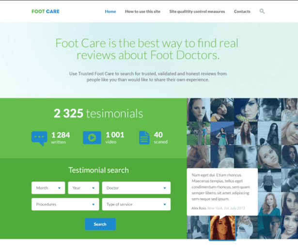 Foot Care Free PSD