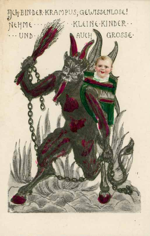 Morbid Anatomy Merry Christmas From Krampus And Morbid