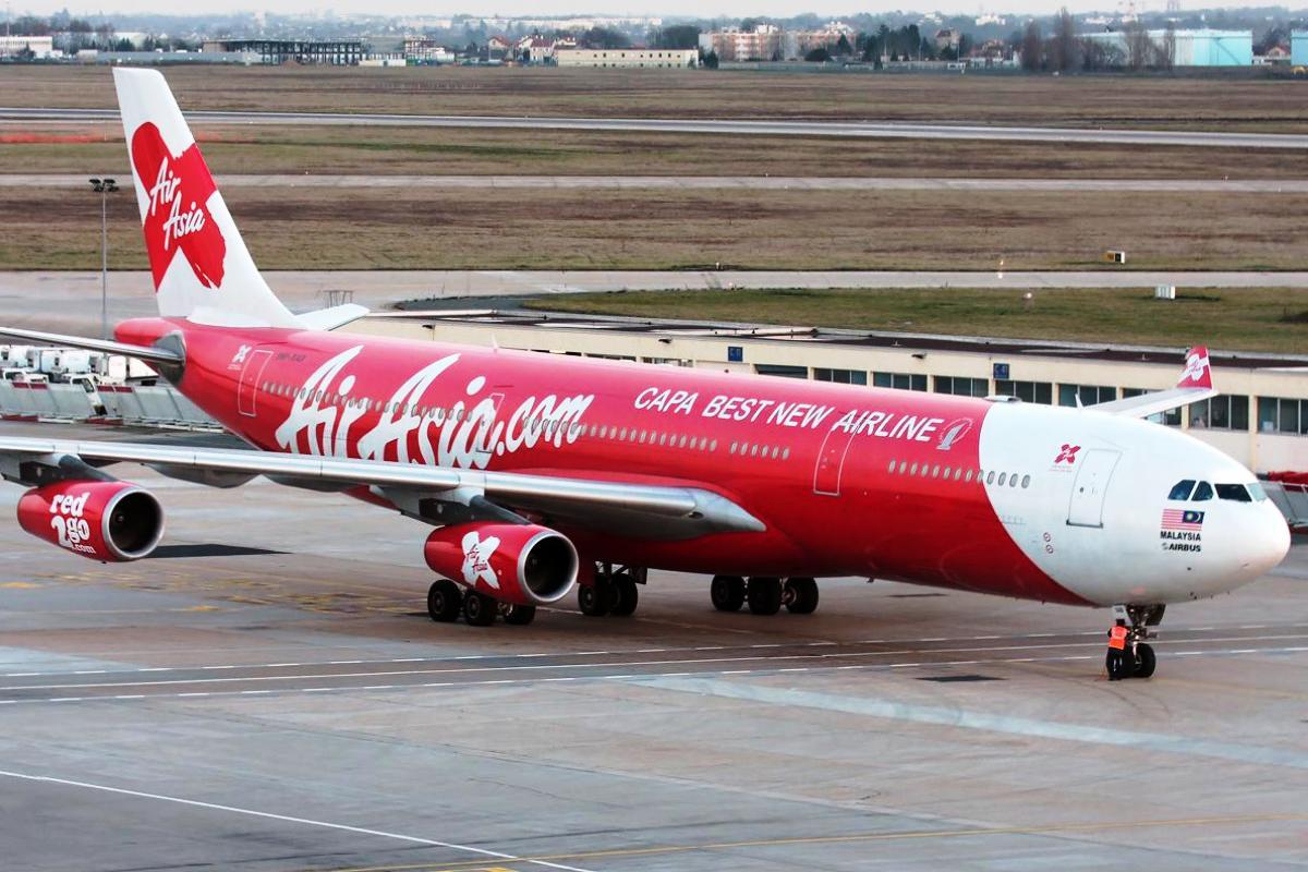 AirAsia X, Airbus A340. ZonaAero