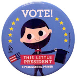 This Little President, a presidential primer  (board bk)