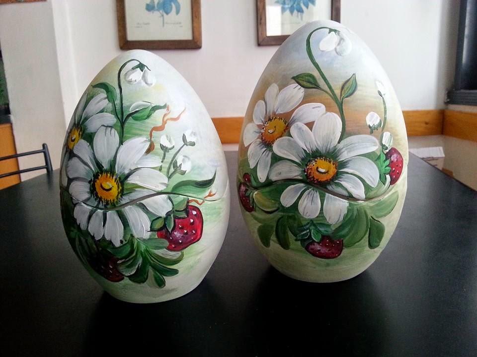Il mondo di dea uova di pasqua dipinte a mano - Uova di pasqua decorati a mano ...