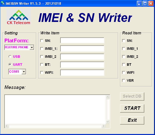 MTK All SmartPhone Imie Changer Tools And Sn Writer