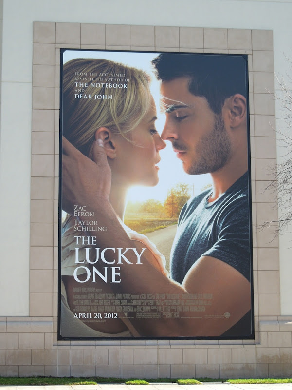 The Lucky One billboard