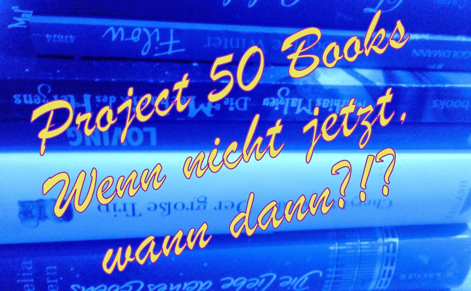 Project 50 Books