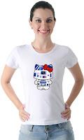 Camiseta Namorada Geek Hello D2