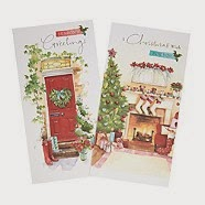 Assorted Christmas cards and price