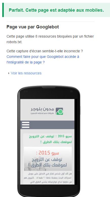 جوجل : تجاوب موقعك مع الموبايل يؤثر على ترتيب موقعك !