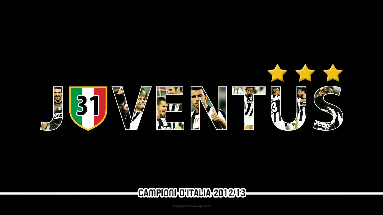 Foto hd wallpaper sfondi juventus for Sfondo juventus hd