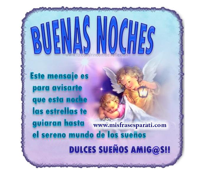 Buenas noches, Frases de buenas noches, Imágenes de buenas noches, Mensajes de buenas noches, Postales buenas noches,