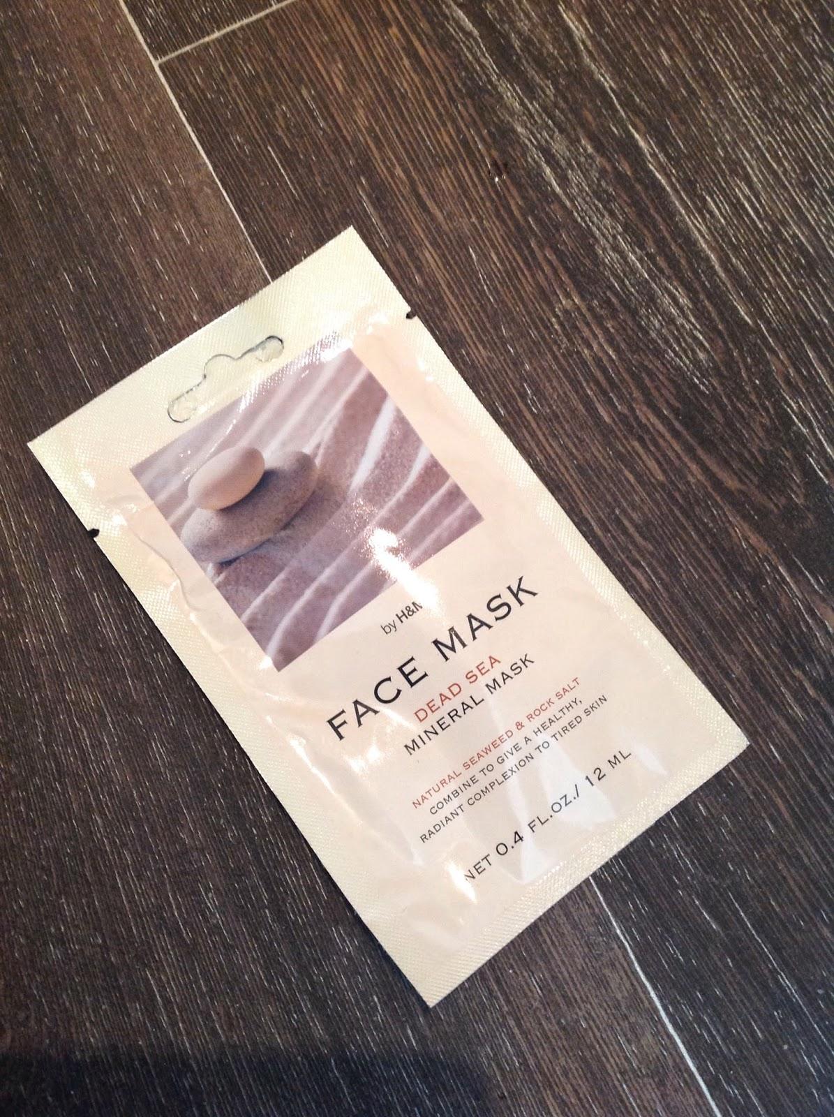 H&M Dead Sea Mineral Mask