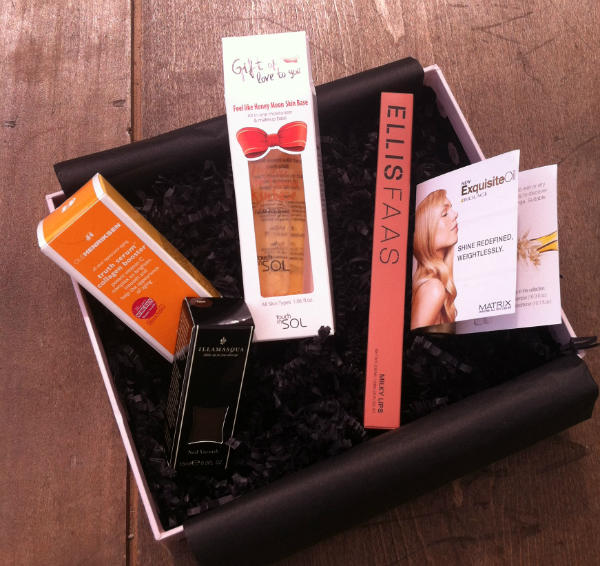 Glossy Box Monthly Beauty Subscription Box Review - August 2012