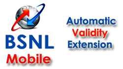 BSNL Prepaid Mobile Plan Automatic Validity Extension