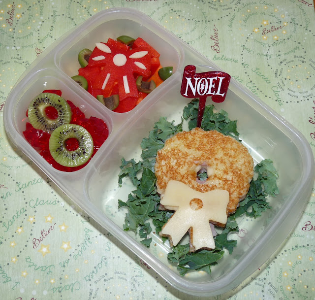 wreath easylunchboxes bento