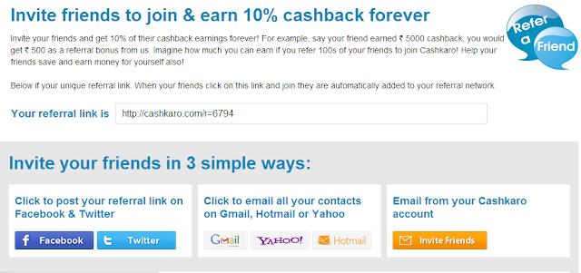 cashback word shopping community