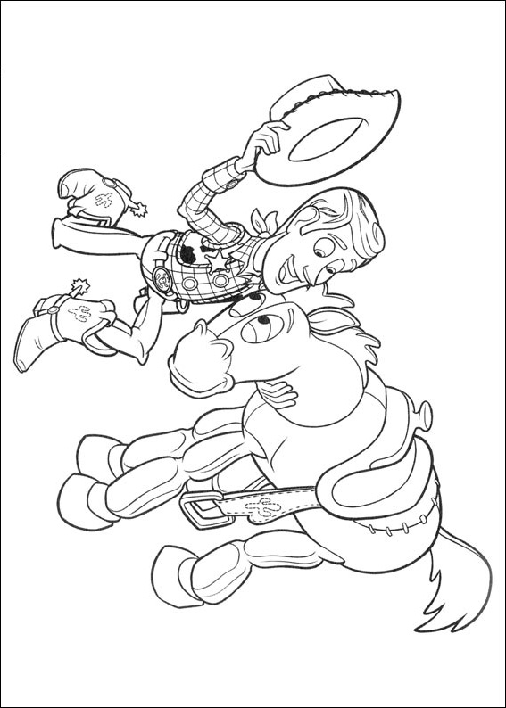 Print And Coloring Page Toy Story For Kids