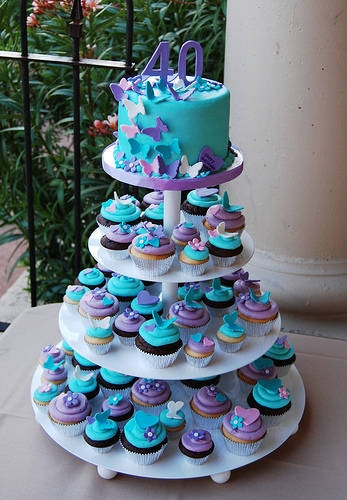 Your Wedding Support: GET THE LOOK - Aqua & Purple Themed Wedding