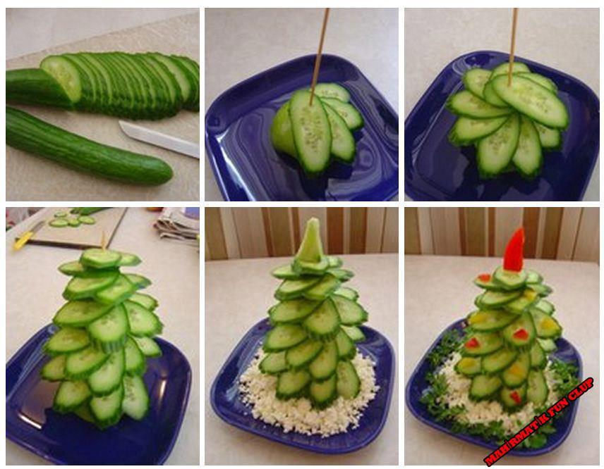 Украшение салатов своими руками мастер класс